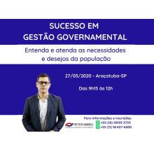 SUCESSO GESTÃO GOVERNAMENTAL - ARAÇATUBA/SP - 27/03/2020