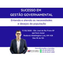 SUCESSO GESTÃO GOVERNAMENTAL - S.J. DO RIO PRETO - 17/02/2020
