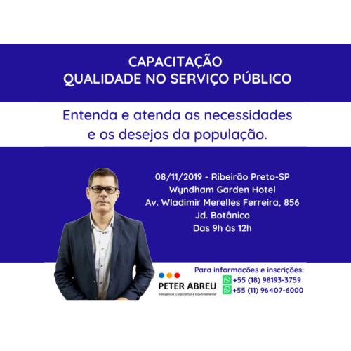 QUALIDADE NO SERVIÇO PÚBLICO - Câmaras - Ribeirão Preto - novembro 2019