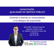 QUALIDADE NO SERVIÇO PÚBLICO - Ribeirão Preto - novembro 2019