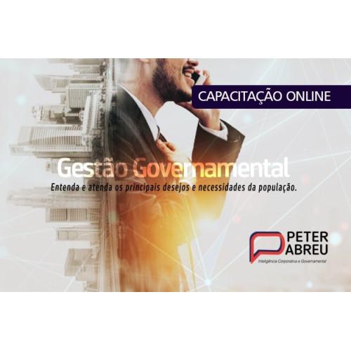 CAPACITAÇÃO PRESENCIAL 2021: GESTÃO GOVERNAMENTAL